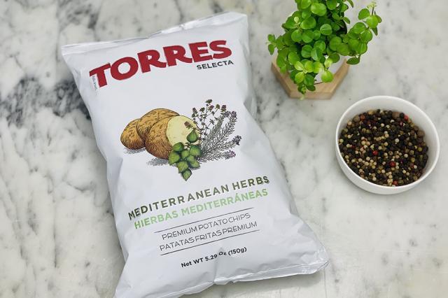 Chips aux herbes de Méditerranée Torres