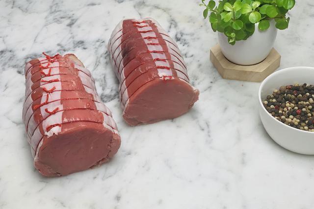 Filet mignon de veau en rôti